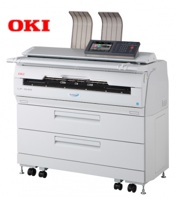 OKI's Large Format Printers deliver multifunctional magic