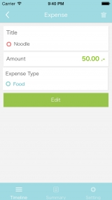 Review - SAYE - Personal Finance and Budget Planner for iOS
