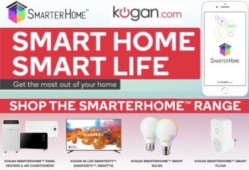 Kogan makes SmarterHome range smarter with new models and Google/Alexa assistant smarts