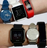 Fitness trackers up, smart watches down