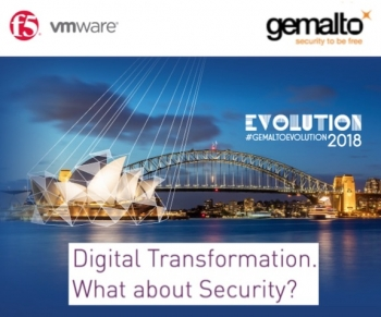6 FULL VIDEOS: Gemalto evolves with VMware and F5 to rethink cyber security
