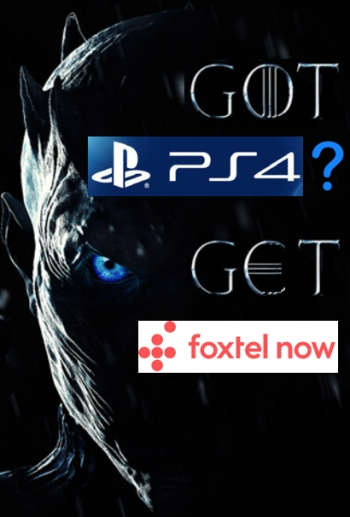 Got a PS4? Foxtel Now arrives in time for high-def GoT