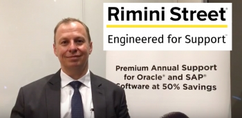 VIDEO Interview: Why Oracle and SAP customers should take a walk down Rimini Street