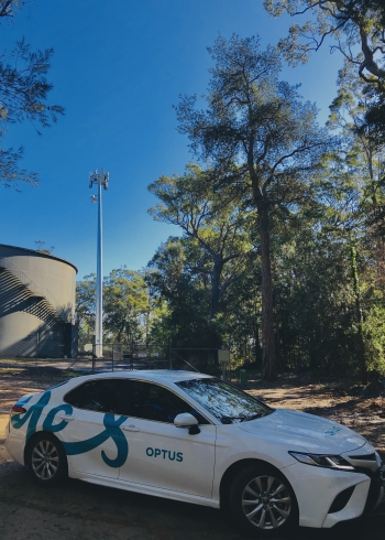 Shoalhaven NSW mobile tower completed by Optus