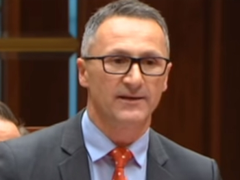 "Dr Richard Di Natale: ""Foreign nations must not be able to extradite and charge journalists who have exposed their wrongdoing."""