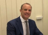 British Foreign Secretary Dominic Raab.