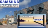 Galaxy Studio to feature Galaxy Note8 in Fed Square for six weeks, Note8 media launch wrap