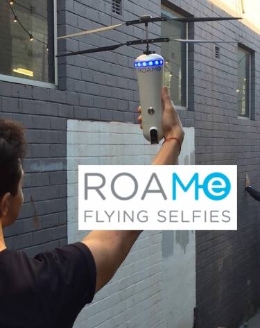 ROAM-e 'world first' flying selfie cam launches 12 noon AEST today (28 June 2016)