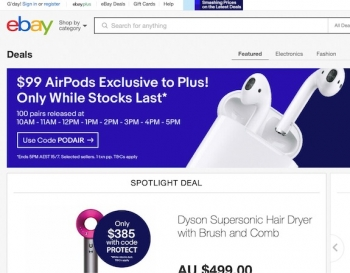 Amazon's sale sees competition ramp up with eBay offering AirPods for $99 and more