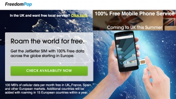 Free US MVNO FreedomPop launching UK in 'summer'