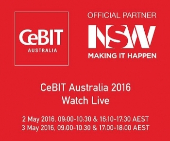 Scroll down below for the actual CeBIT Australia 2016 streaming window :-)