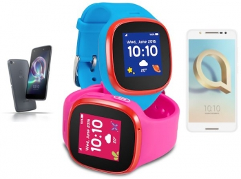 Alcatel aims for affordable new Androids and kid-friendly smartwatch