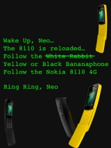 Nokia reloads the matrix of its 8110 phone with 4G for A$129