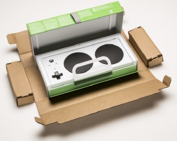 VIDEO: Accessible packaging for the Xbox Adaptive Controller an easy open, move and play
