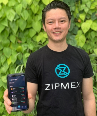 "Marcus Lim: ""Zipmex has had a strong focus on bringing the same level of high-quality trades and features seen in the traditional stock market to the digital asset space."""
