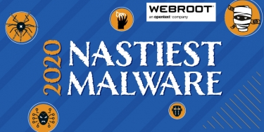 2020's nastiest malware revealed by Webroot