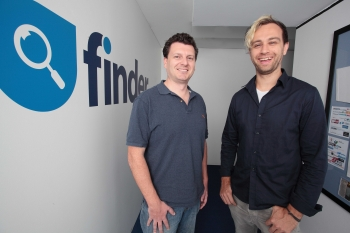 Finder.com founders Fred Schebesta, Frank Restuccia announce US launch