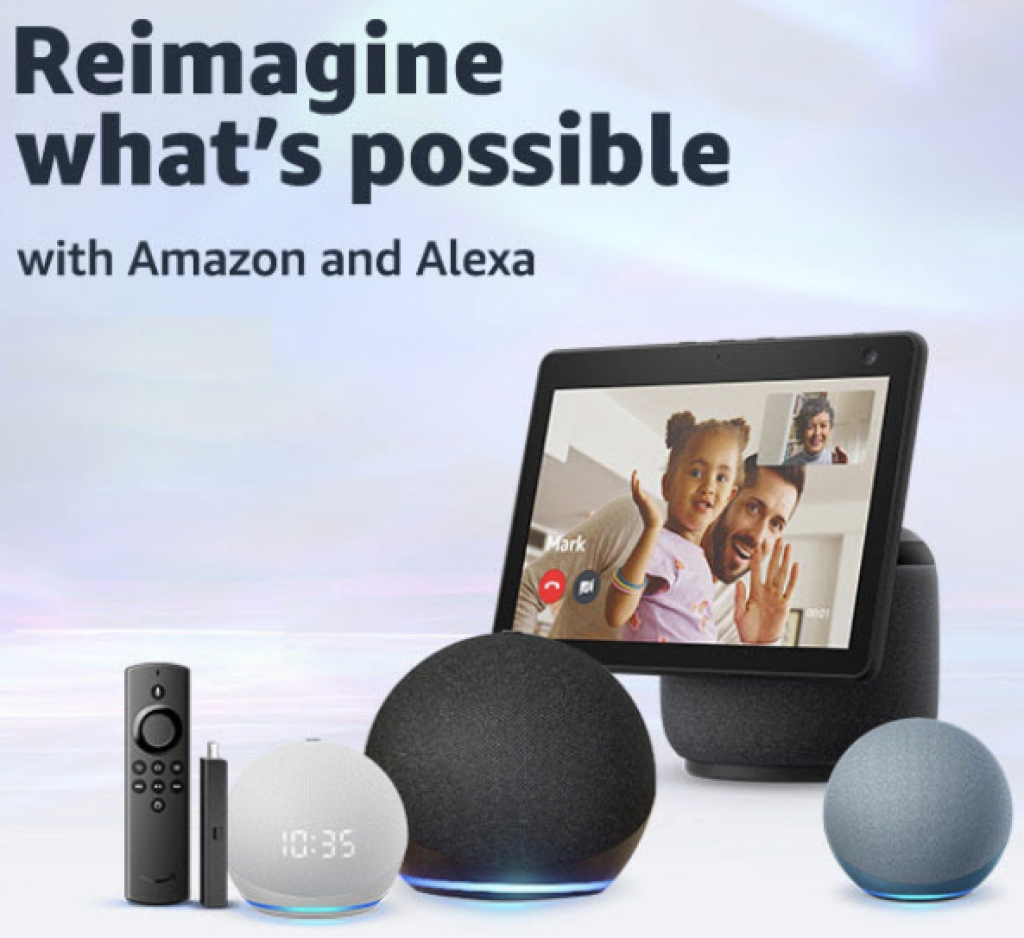 Amazon reimagines Echo, Echo Dots and Echo Show 10 'inside and out'