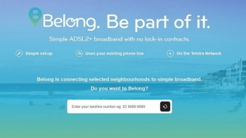 Telstra launched the Belong website earlier this week