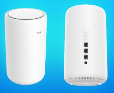 The TCL LINKHUB 5G CPE router.