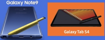 Samsung Galaxy Note9 and Tab S4 first looks: impressive!