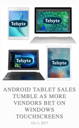 iPads dominate as Android tablet vendors look to Windows for sales success