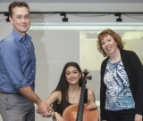 Project uses motion capture to study cellists' injuries