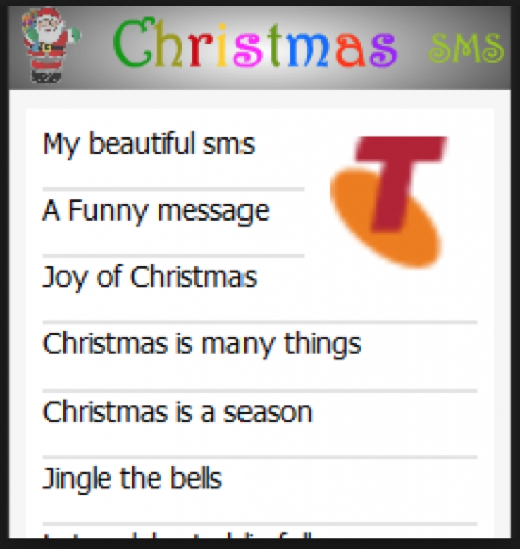 iTWire - Get the message: Xmas 2014 SMS & MMS on Telstra breaks record