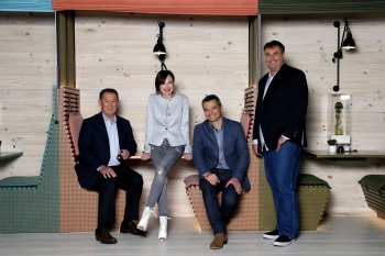 Slingshot CEO Karen Lawson and her team