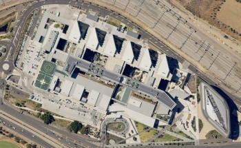 Adelaide Hospital aerial photo by Spookfish