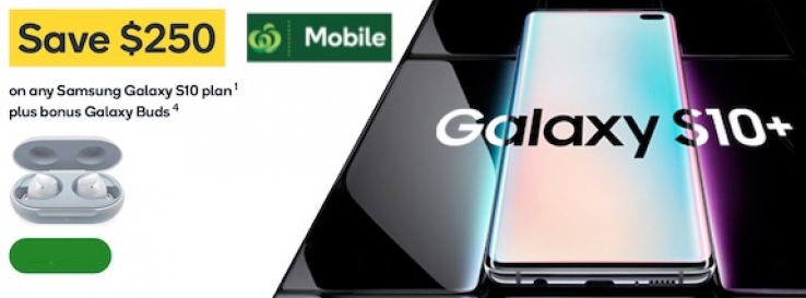 03bf7544e52 iTWire - Woolworths seeks Galaxy S10 sales with $250 off offer