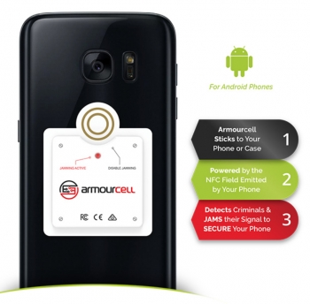 VIDEO interview: Armourcell stops NFC smartphone data theft, complements Armourcard