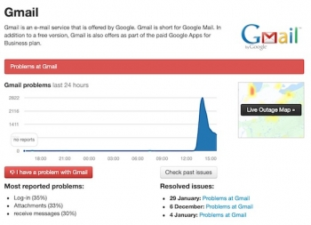 Frown: Gmail, Google Drive are down :-( [UPDATED]