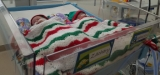 Premature twins Zachary and Sebastian will be spending Christmas at The Townsville Hospital but will still be connected with their family.