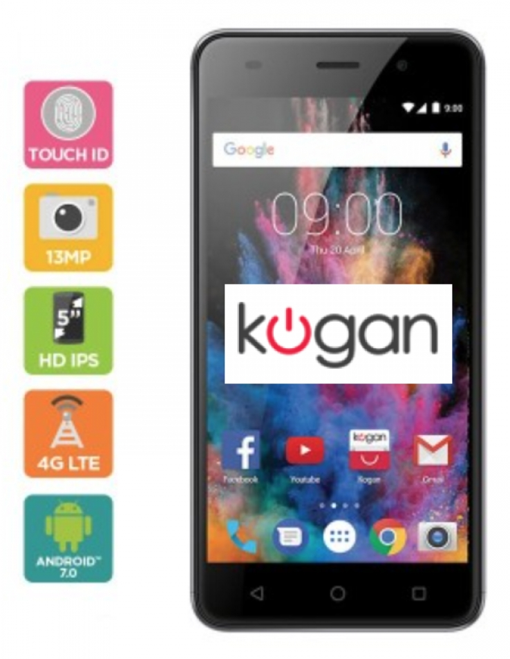 6892c428c18 Kogan's new $199 Agora 8 flagship smartphone with Apple-esque 'Touch ...