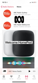 ABC Australia radio stations come to Aussies using HomePod, iPhone, iPad, Mac, Apple Watch and Apple TV