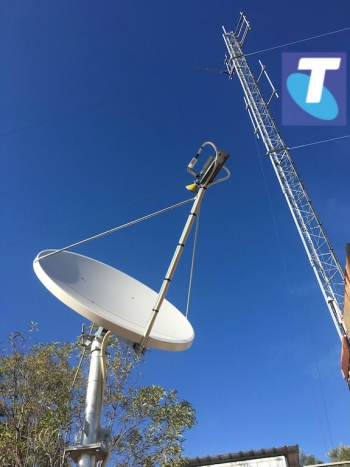Telstra's 4GX-lite mobile satellite small-cell launches with first customer, 'bridging coverage gap'