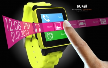 VIDEO: Burg joins burgeoning smart watch market with $199 phone watch!