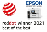Epson EcoTank Printers win 'Best of the Best' of the Red Dot Award for Product Design 2021
