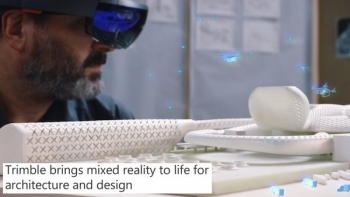 VIDEO: Hololens and Trimble bring architectural and design mixed reality to life