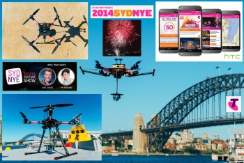VIDEO: Telstra ensures NYE 2014 fireworks will - and won't - drone on!