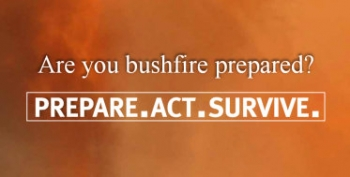 Telstra bushfire warning