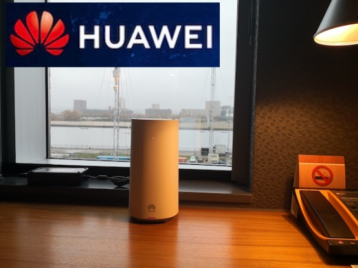 iTWire - Huawei showcases '5G Home Broadband' capability in London