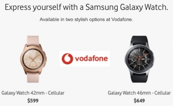 Vodafone Australia is also now selling Samsung's Galaxy Watch