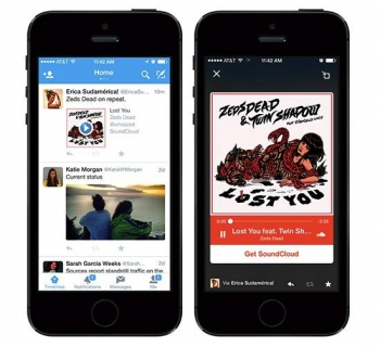 Twitter adds Audio Card