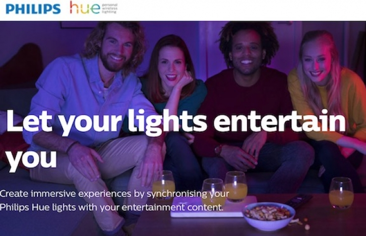 iTWire - VIDEO: Philips Hue Sync creates 'surround sound for your eyes'