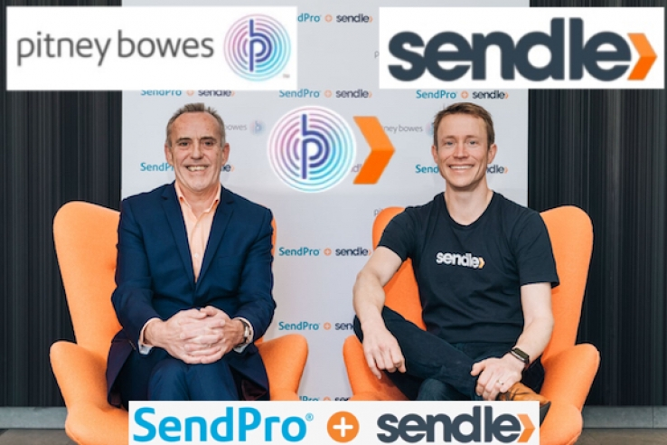 51bc99d6c VIDEO  Pitney Bowes and Sendle partner to   039 reinvent office shipping and
