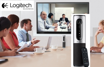 VIDEO: Logitech's 'anytime, anywhere' portable videoconferencing solution