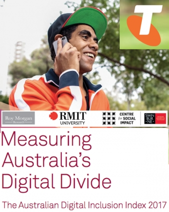 Telstra launches Australian Digital Inclusion Index 2017: we're doing more online