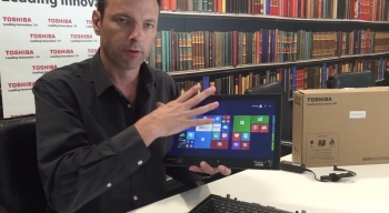 VIDEO: Interview with Justin White featuring Toshiba's 2-in-1 Portege Z20t